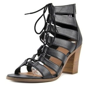 Crown Vintage Danny Gladiator block heel. 7.5
